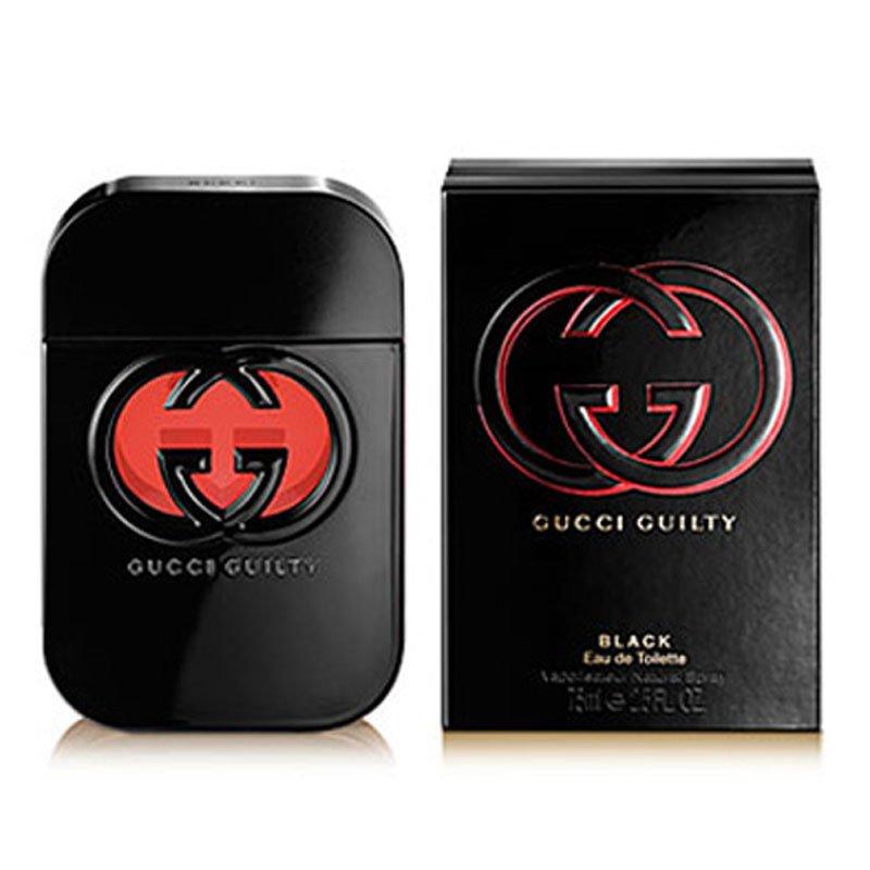 05352149d عطر گوچی گیلتی بلک پور فم 75 میلیلیتر |فروشگاه اینترنتی عطر پاپریا