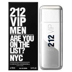 عطر 212 وی آی پی مردانه قدیمی جعبه مشکی