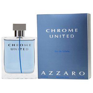 b69652379 عطر آزارو کروم یونایتد ۱۰۰ میلیلیتر Azzaro Chrome United Eau De Toilette  For Men 100ml