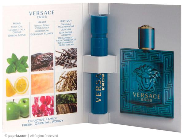 aa54a7037 اشانتیون عطر ورساچه اروس مردانه 1 میلی لیتر |فروشگاه اینترنتی عطر پاپریا