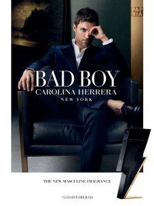 پوستر عطر BAD BOY