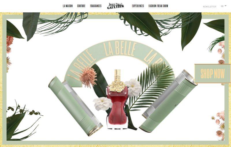 la belle perfume website