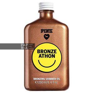روغن بدن اکلیلی برنزه (Bronze Athon) پینک ویکتوریا سکرت 250 میلی لیتر
